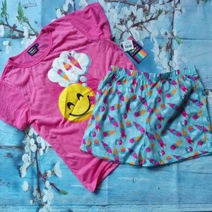 West Coast Connection Girl Size L Pajamas Set